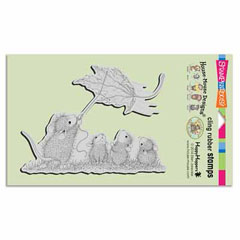 CLING LEAF KITE - Our Newest House-Mouse Designs® Cling rubber stamps