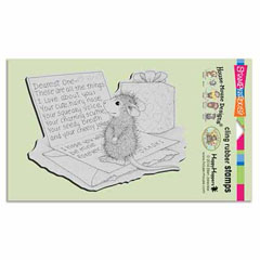 CLING DEAREST ONE - Our Newest House-Mouse Designs® Cling rubber stamps