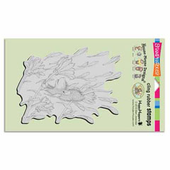 CLING BLOSSOM BREEZE - Our Newest House-Mouse Designs® Cling rubber stamps