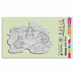 CLING CHEESE WRAPPERS - Our Newest House-Mouse Designs® Cling rubber stamps