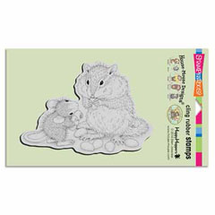 CLING CHIPMUNK TREAT - Our Newest House-Mouse Designs® Cling rubber stamps