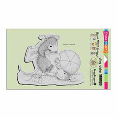 CLING SUNBLOCK SQUIRT - Our Newest House-Mouse Designs® Cling rubber stamps