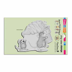 CLING SOFT SERVE SPILL - Our Newest House-Mouse Designs® Cling rubber stamps