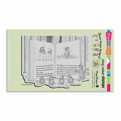 CLING MUDPIE TALE - Our Newest House-Mouse Designs® Cling rubber stamps