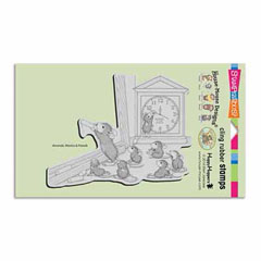 CLING TEACHER TIME - Our Newest House-Mouse Designs® Cling rubber stamps