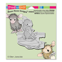 Cling Reptile Walk - Our Newest House-Mouse Designs® Cling rubber stamps