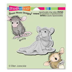CLING BABY BLANKET - Our Newest House-Mouse Designs® Cling rubber stamps