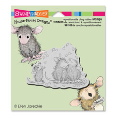CLING SHOWER OF LOVE - Our Newest House-Mouse Designs® Cling rubber stamps