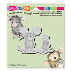 CLING LOVE YOU CANDY - Our Newest House-Mouse Designs® Cling rubber stamps