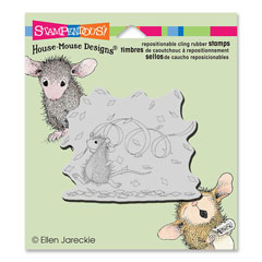 CLING CONFETTI FUN - Our Newest House-Mouse Designs® Cling rubber stamps