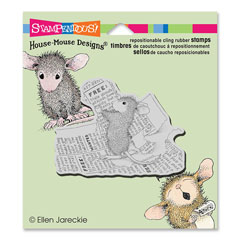 CLING CLASSIFIED AD - Our Newest House-Mouse Designs® Cling rubber stamps