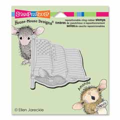 CLING FLAG FLYER - Our Newest House-Mouse Designs® Cling rubber stamps
