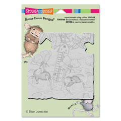 Cling Staying Cool - Our Newest House-Mouse Designs® Cling rubber stamps