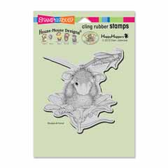 CLING GRASSHOPPER LEAP - Our Newest House-Mouse Designs® Cling rubber stamps