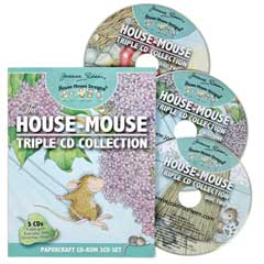 House-Mouse 3 CD Collection - House-Mouse Designs® - Project Books & CD's
