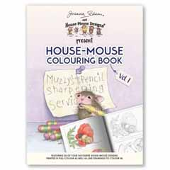 House-Mouse Colouring UK VOL 1