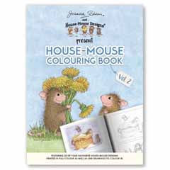 House-Mouse Colouring UK VOL 2