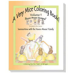 Very Mice Coloring Book Vol 1