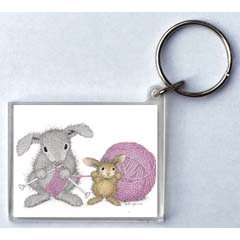 Yarn Tales Key Ring
