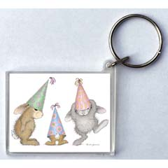 Party Hoppers Key Ring