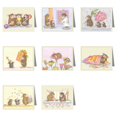 8 Assorted Note Cards / 8 envs