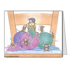 Close knit fam. Notecards/Env. - House-Mouse Designs® packages of notecards