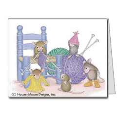 Knit-a-rific - Notecards/Envs. - House-Mouse Designs® packages of notecards