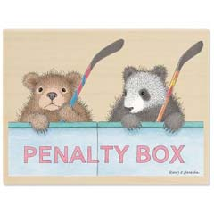 Gruffies� - Penalty Box - Gruffies® Rubber Stamps