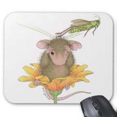 Mouse Pad 9 x 8 x 1/4