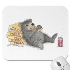 Mouse Pad- Bear of an Appetite