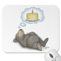 Mouse Pad- I Dream of Cake
