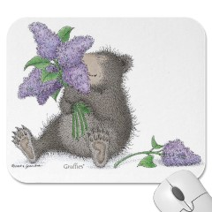 Lilac Bouquet    Mouse Pad