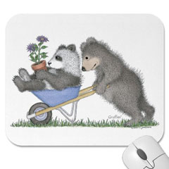 Mouse Pad- Wheelbarrow Ride