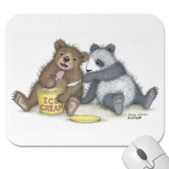 Mouse Pad -Beary Good