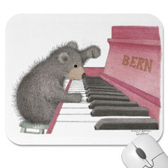 Mouse Pad- Beary Nice Song