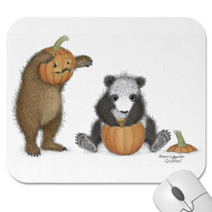 Mouse Pad- Punkin' Head