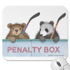 Mouse Pad- Penalty Box