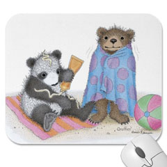 Mouse Pad- Beach Time Fun