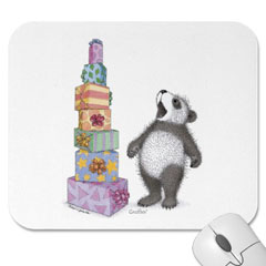 Mouse Pad- Tower of Presents
