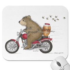 Mouse Pad- Honey on the Run