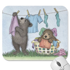 Mouse Pad- Laundry Line