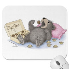 Mouse Pad Beary Full of Truffl