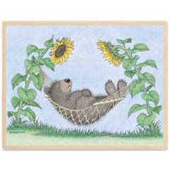 Gruffies® -  Hammock Hibernation - Gruffies® Rubber Stamps