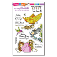 New Beginning Perfectly Clear - Our Newest House-Mouse Designs® Cling Rubber Stamp set