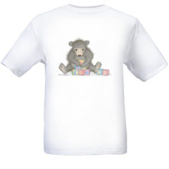 Baby blocks  T-shirt-SM - Gruffies®  T-Shirts