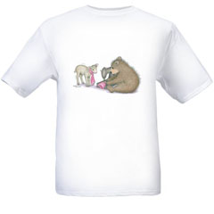 Wool Sew for. T-shirt-SM - Gruffies®  T-Shirts