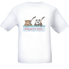 Penalty Box   T-shirt-SM - Gruffies®  T-Shirts