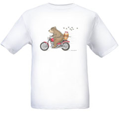 Honey on the Run T-shirt-SM - Gruffies®  T-Shirts