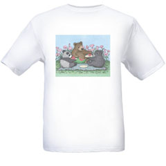 Melon Picnic  T-shirt-SM - Gruffies®  T-Shirts