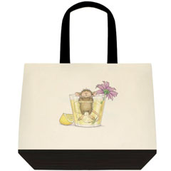 Citrus Bath-Two-Tone Tote Bag